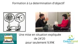 la determination d'objectif, formation e-learning
